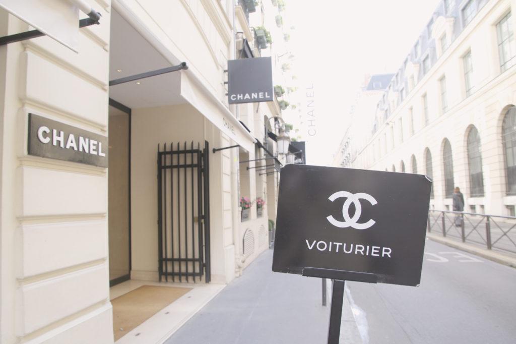 パリ・シャネル本店前