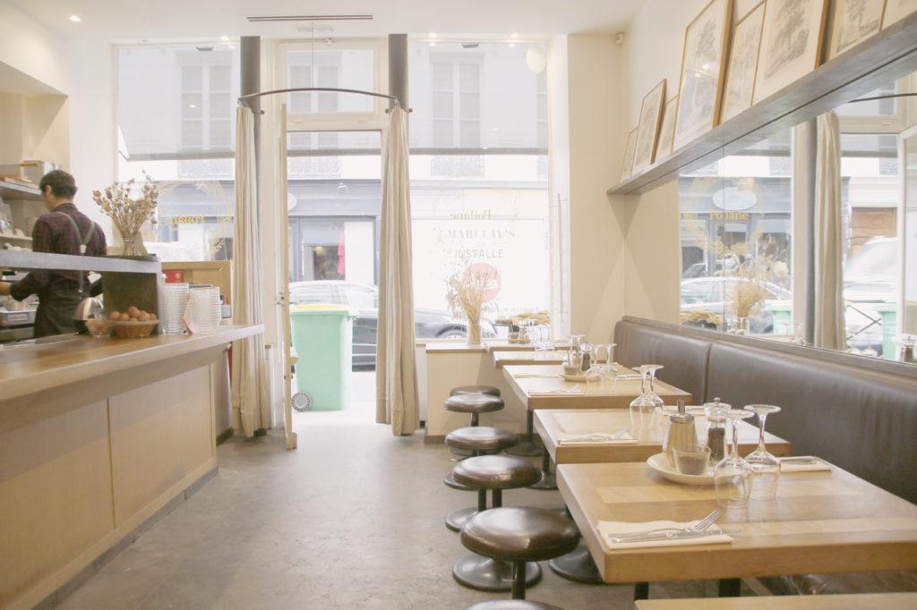 ポワラーヌのカフェ