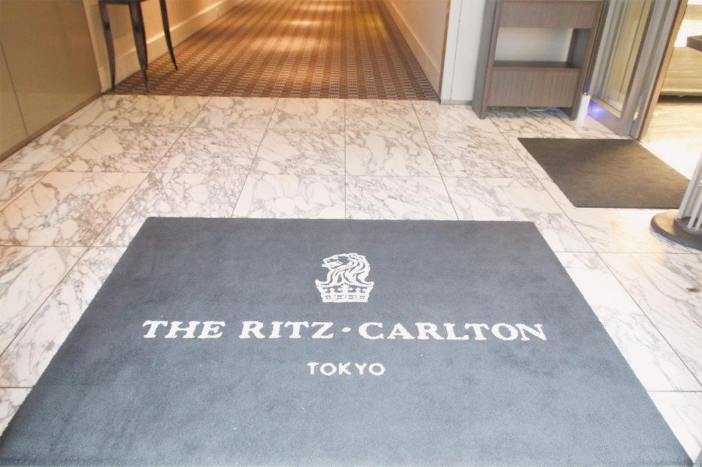リッツカールトンの入り口