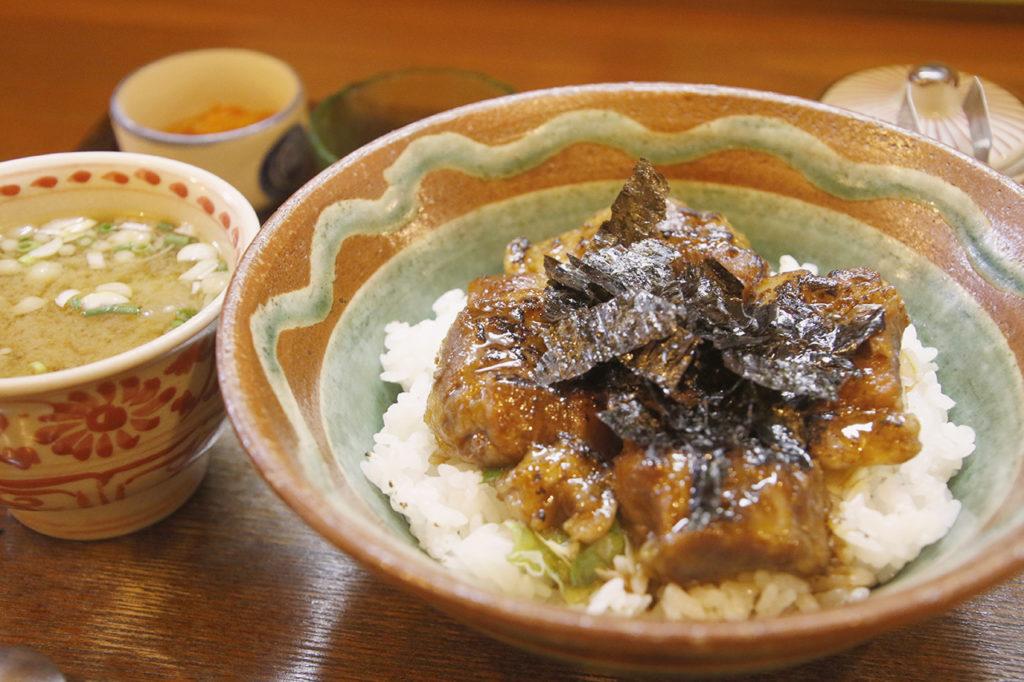 石垣島キッズのソーキ丼