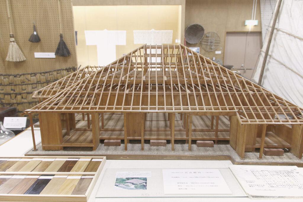 石垣市立八重山博物館にある宮良殿内の模型