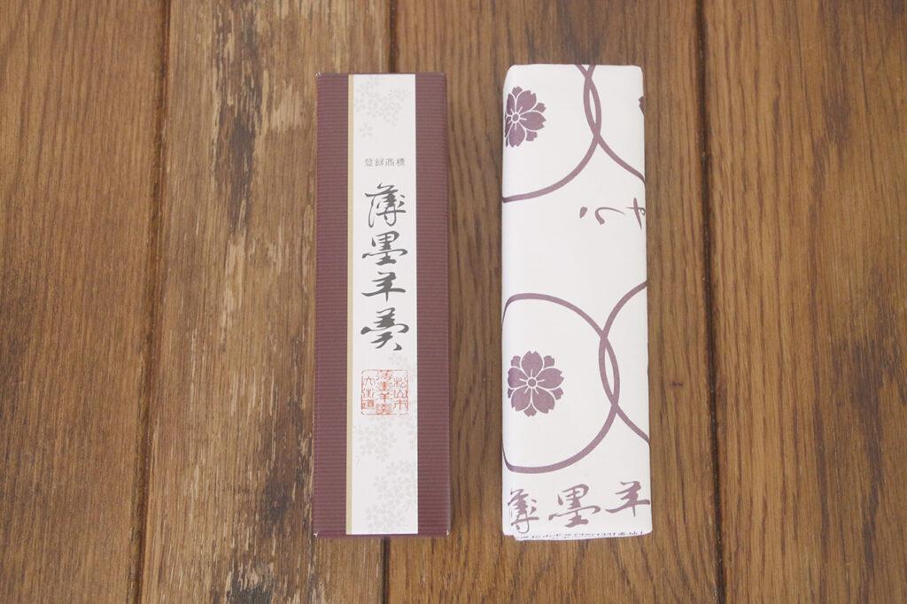 薄墨羊羹(愛媛県)